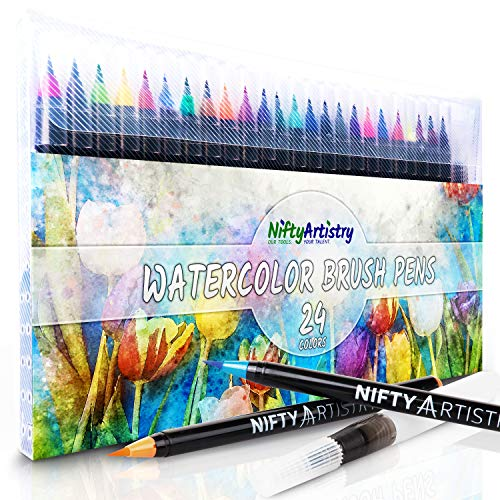 Watercolor Brush Pens Calligraphy Water Based product image