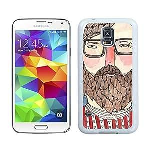 linJUN FENGCartoon Design Charlie S5 Case Best New Samsung Galaxy S5 Case White Cover