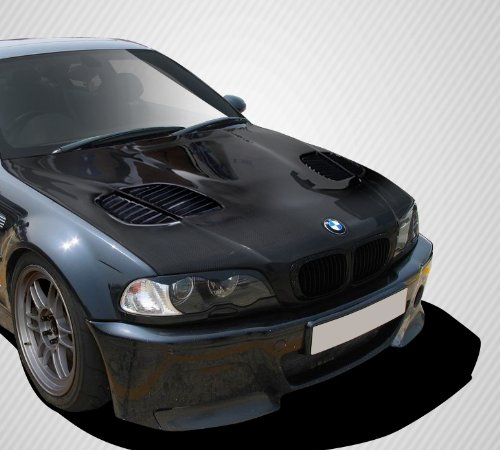 Carbon Creations ED-TOV-308 GTR Hood - 1 Piece Body Kit - Compatible For BMW 3 Series 2000-2006