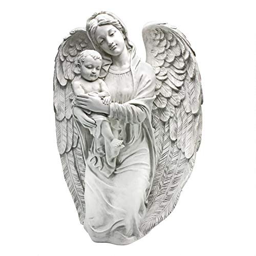Design Toscano Devoted Protector Guardian Angel Statue