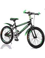 YFNIAO Youth Mountain Bike 22 Inch, Green