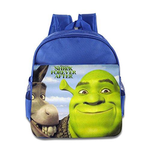 XJBD Custom Personalized Shrek Children School Bag Backpack For 1-6 Years Old - Style Lively Blake