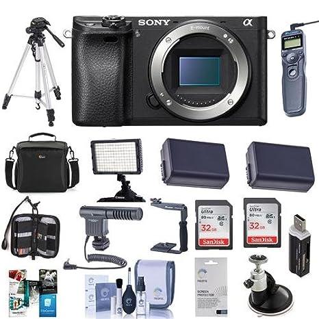Amazon.com: Sony Alpha a6300 cuerpo de cámara digital sin ...