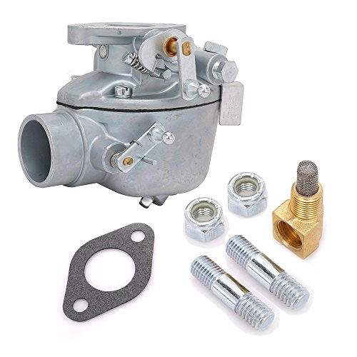 EAE9510C Carburetor Carb with Gasket and Mount Bolts for Ford Jubilee NAA NAB 600 620 630 640 650 660 700 740 800 820 840 850 860 Tractor Replace # EAE9510C (Carburetor Bolt)