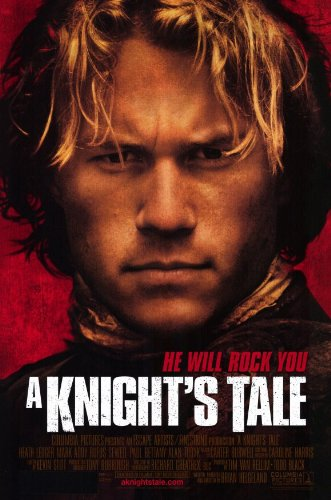 Poster Tale Knights - A Knights Tale - Movie Poster - 11 x 17