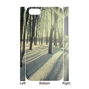 Custom Protective Hard Plastic 3D Case with Sunshine for Iphone 4/4S at Hushell