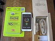 "Straight Talk Samsung Galaxy S5 ""White"" run's on Verizon's 4G XLTE Towers via Straight Talk's $45 unlimited 5GB Plan"