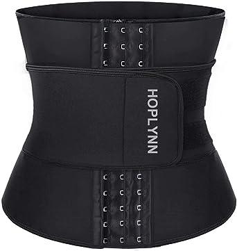 HOPLYNN Neoprene Sweat Waist Trainer Corset Vest for Weight Loss Women Shapewear