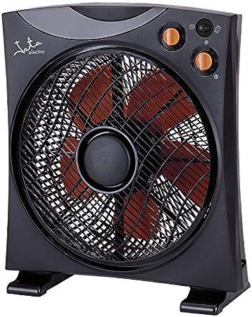 Jata VS3012 Ventilador de suelo, 45 W, 200 Decibelios, Plástico, Negro: Jata: Amazon.es: Hogar