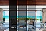 Sugo Premium Privacy Reflection Window Tint Film Energy Saver (3X12 FEET, 35% VLT)