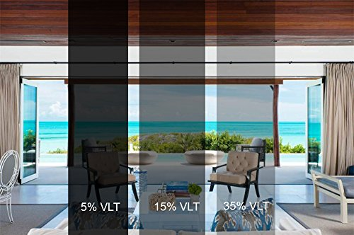 Sugo Premium Privacy Reflection Window Tint Film Energy Saver (3X24 FEET, 15% VLT) by Sugo (Image #9)