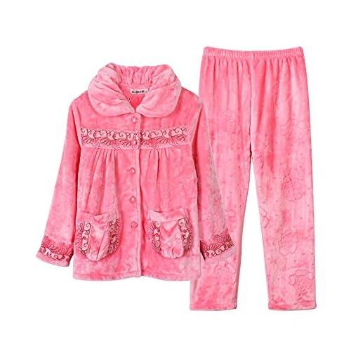 JIADONG-Imbottito-si-adatta-alle-signore-in-autunno-e-inverno-plus-dimensioni-corallo-vello-accappatoi-pigiama-di-flanella-pigiameria-e-loungewear-m-l-XL-XXL-XXXL