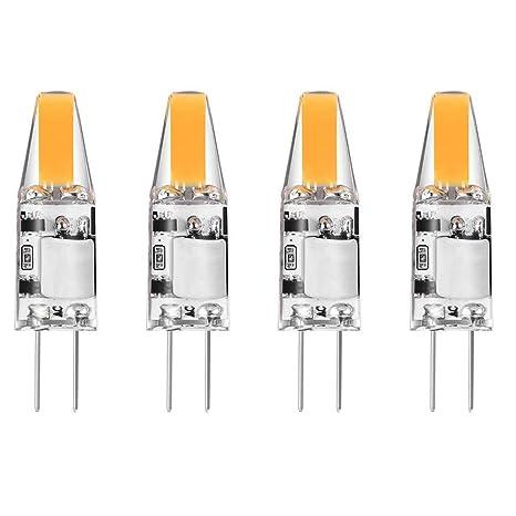 Bombilla LED G4 by ZSZT, 2W Equivalente a 20 W, Blanco Cálido 2700K,
