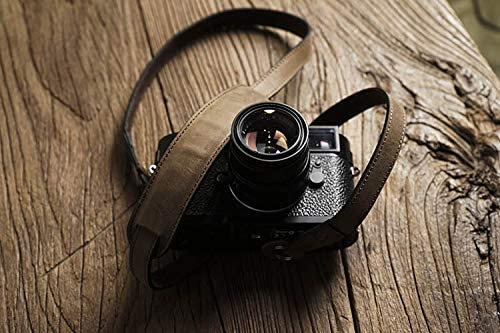 Mr.stone Handmade Genuine Leather Camera Strap Camera Shoulder Sling Belt Shoulder Support(WJC007)