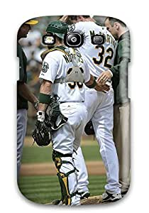 EBmogiR478ncGHv Tpu Phone Case With Fashionable Look For Galaxy S3 - Oakland Athletics