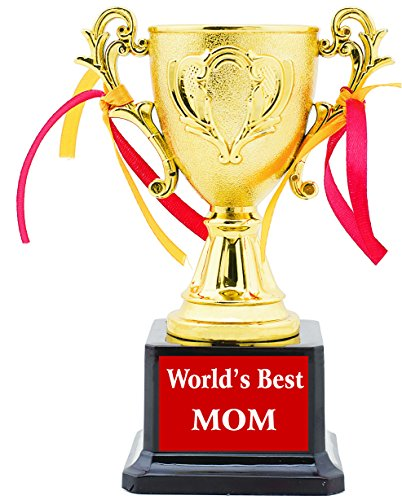 AARK INDIA ABS Mom Birthday Trophy (Gold and Brown) Price & Reviews