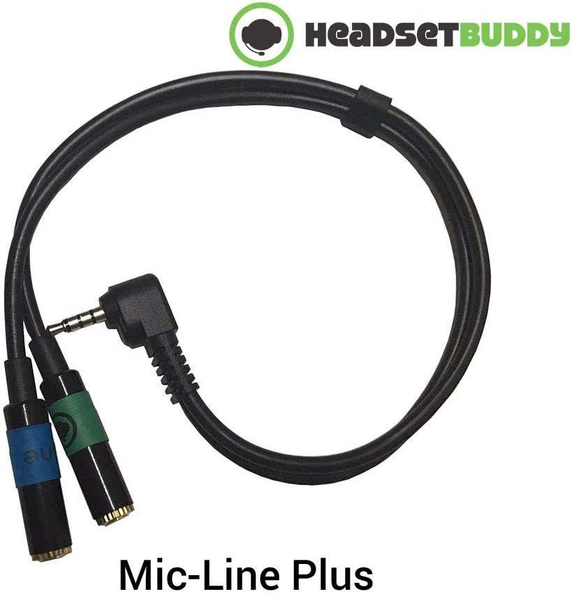 Auriculares Buddy de línea de Entrada de Audio Plus Adaptador de ...