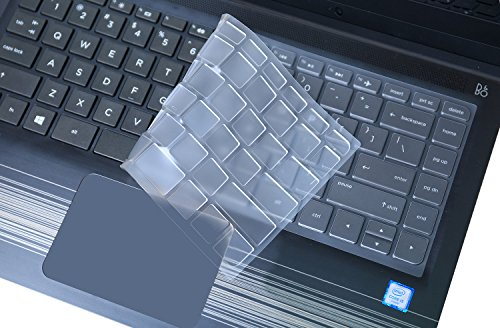 for HP Stream 14 Keyboard Cover Soft-Touch Clear Protective