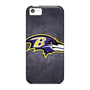 JamesRGy Design High Quality Baltimore Ravens 4 Cover Case With Excellent Style For Iphone 5c