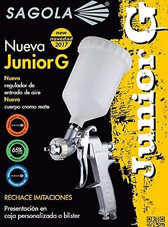 Sagola M260602 - Pistola gravedad junior g 1.4 acabados: Amazon.es: Bricolaje y herramientas