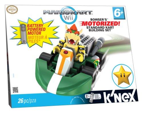 K'NEX Mario Kart Wii Building Set: Bowser's Motorized Standard Kart, Baby & Kids Zone