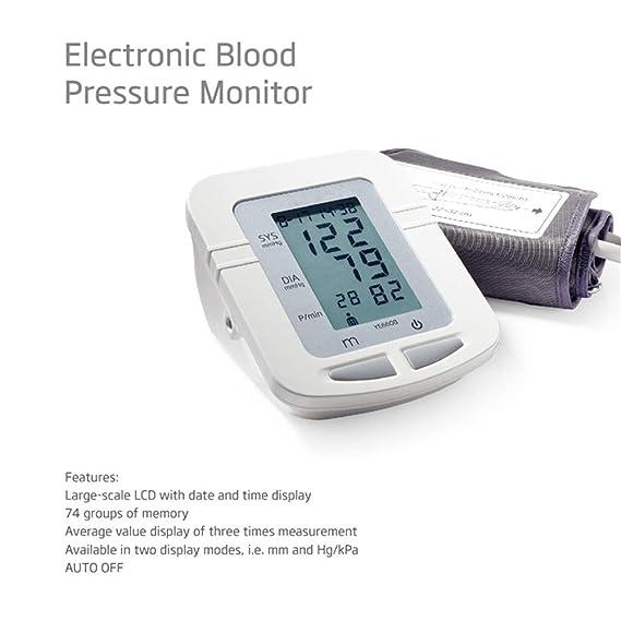Amazon.com: JUZEN - Monitor automático de presión arterial ...