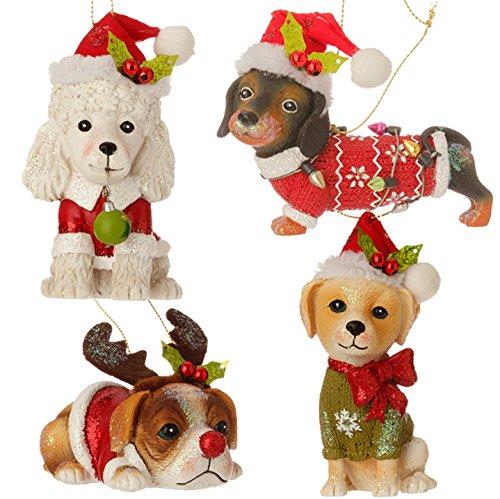 4 Pack Ornament Set - 5