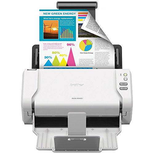 Brother High-Speed Desktop Document Scanner, ADS-2200, Multiple Scan Destinations, Duplex Scanning