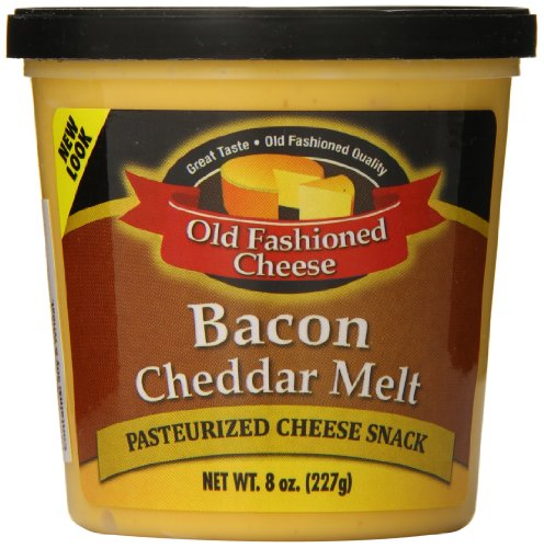 Old Fashioned Cheese Bacon Cheddar Melt, 8 Ounce (Pack of 12) by Old Fashioned Cheese