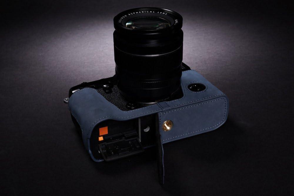 Neck Strap BolinuUS Genuine Real Leather Camera Case Bag Cover for Fuji X-Pro2 Fujifilm X Pro2 X-Pro3 XPro3 with XF35mm Lens Bottom Opening Version X-Pro2 X-Pro 3 Case Mini Storage Bag