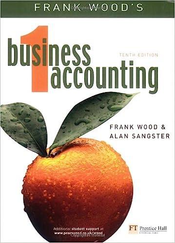 Business Accounting Volume 1: v. 1: Amazon.co.uk: Frank Wood, Alan
