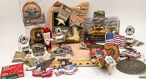 JZ Bundles Large Set - Army - Kurt Adler - 22-Piece Bundle - A Bundle of Christmas Ornaments Great Gift by JZ Bundles (Image #5)