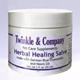 Product review for Herbal Healing Salve with German Blue Chamomile & Neem Oil for Pets - and People!