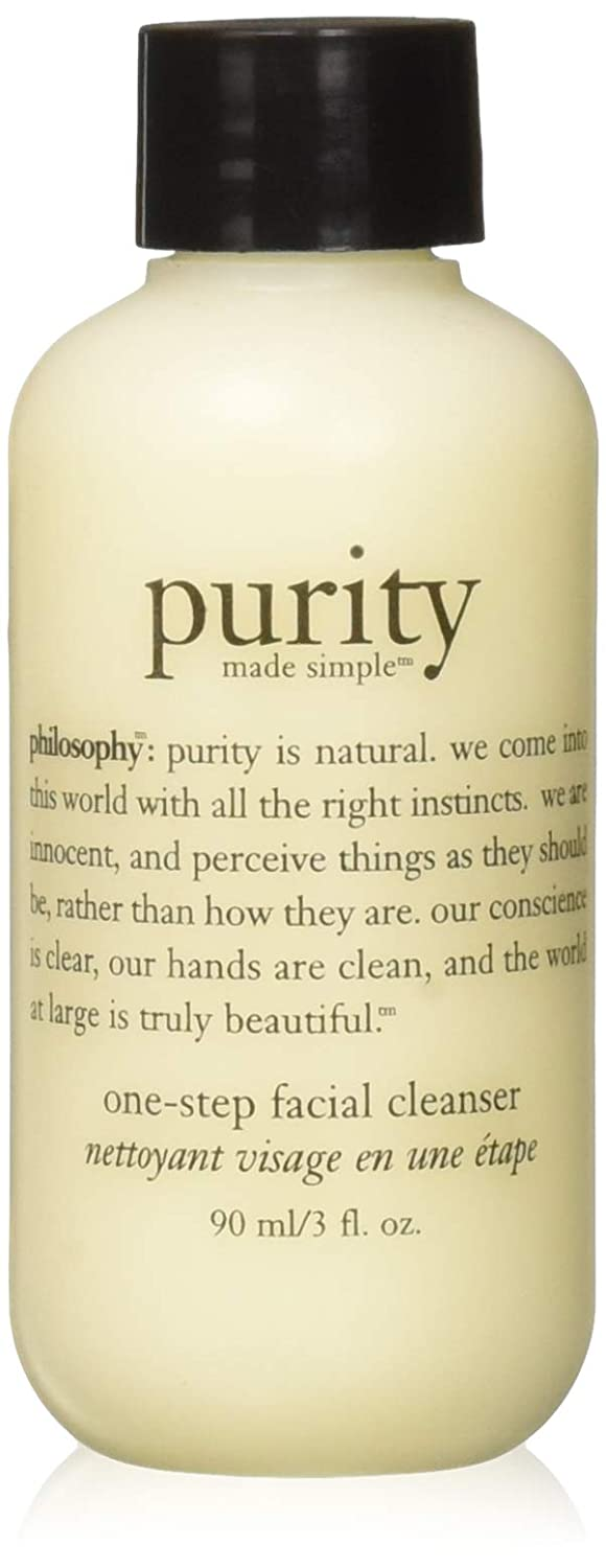 Philosophy Purity Made Simple One Step Facial Cleanser for Unisex, 3 Ounce