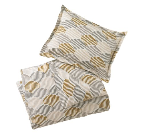 - Dwell Studio Scallop Bronze Sham, Pair, Standard