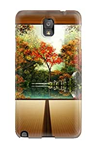 Hot Japansese Garden First Grade Tpu Phone Case For Galaxy Note 3 Case Cover