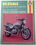 Haynes Suzuki GSX/GS 1000 & 1100 4-Valve Fours Owners Workshop Manual(998cc-1075cc, 1980 to 1983)