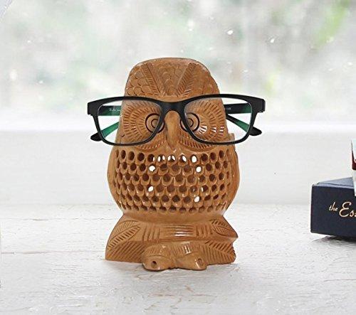 Eyeglass Holder Eyeglasses Stand Spectacle Holder Stand Display Holder Stand Glasses Holder Owl Design Home Decor - Frames Eyeglass Recycled