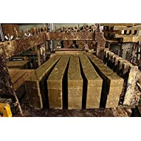 El Serail Savonnerie Marseillaise desde 1949 - Barra de jabón genuino de Marsella 1,4 Kg. Jabón crudo EXTRA PURO de…