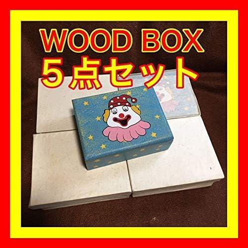 小物入れ 昭和 ショウワ レトロ 木箱 ボックス 宝石箱 雑貨屋 雑貨 ジュエリーボックス ジュエリーケース インテリア アンテ