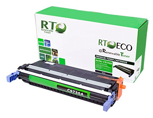 Renewable Toner Compatible Toner Cartridge Replacement for HP 645A C9730A Laserjet Pro 5500 5550 (Black) ()