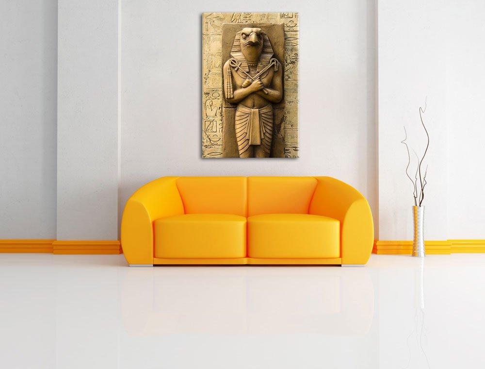 aucune affiche ou limpression de limage Art mural avec cadre XXL /énormes Photos compl/ètement encadr/és par la civi/ère moins cher que peintures /à lhuile et de limage Dieu /égyptien Horus Format: toile 60x40auf