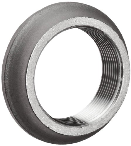 Merit Brass Stainless Steel 304 Cast Pipe Fitting, Flange, Welding Spud, Class 150, 1/2'' National Pipe Taper Thread Female (Pack of 25) by Merit Brass