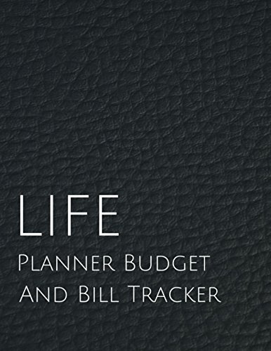 Reference Refill Planner - Life planner budget and Bill Tracker: With Calendar 2018-2019,income list,Weekly expense tracker,Bill Planner Journal (monthly budget planner)