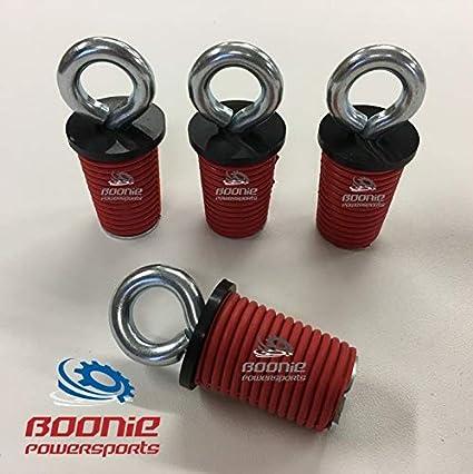 RZR Sportsman /& ACE Polaris Lock /& Ride Lock Ride Type Tie Down Anchors Boonie Powersports 4 Pack
