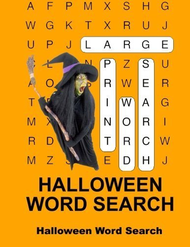 Halloween Word Search by Mike Edwards (2015-03-05)