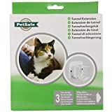 PetSafe Wall Tunnel Extension for 4-Way Locking and Magnetic Key Cat Doors, White