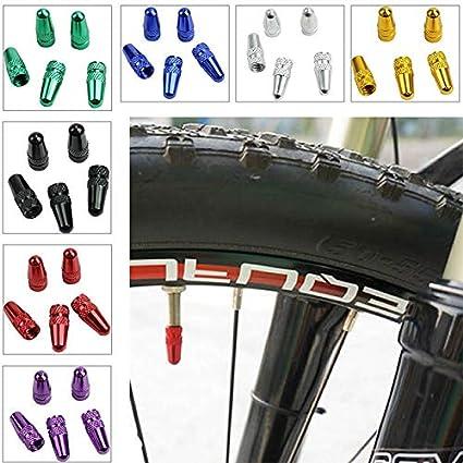 Alloy Bike Parts Bicycle Accessories Dust Cover Tyre Valve Cap Wheel Rim Tire