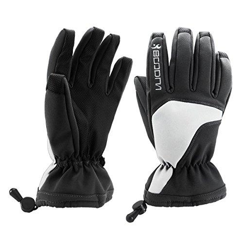 Boodun Winter Snow Ski Gloves Waterproof Thinsulate Warm Skiing Snowboard Gloves For Men Women