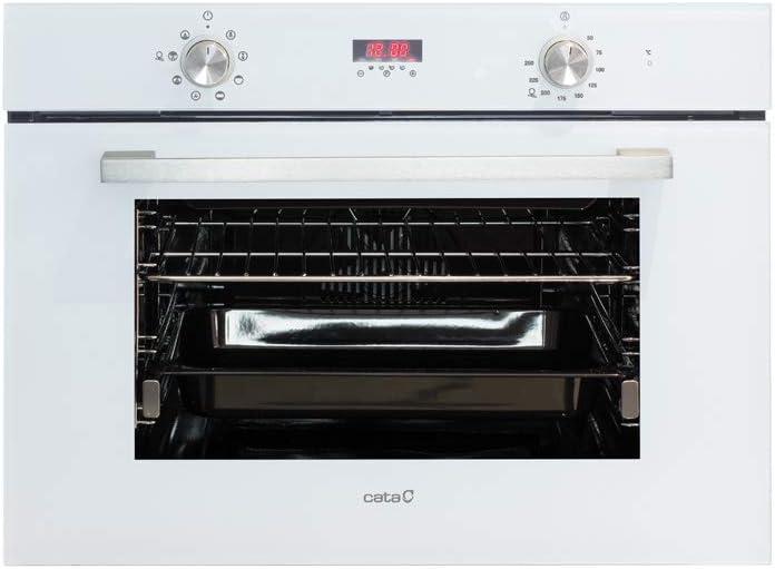 Cata Multifunción 8 Funciones | Horno Modelo MD 5008 WH | Capacidad Interior de 40 litros | Rango de Temperatura 50º-250º | Sistema de Limpieza AquaSmart | Clase de eficiencia energética: A, Blanco